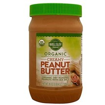 Wellsley Farms Organic Creamy Peanut Butter, 36 Oz.,, () - SET OF 3 - $50.19