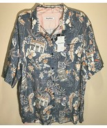Tommy Bahama MLB Retro Team Theme MLB Houston Astros Blue Hawaiian Shirt 3XL New - $98.01