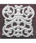 Plaster Mold, Victorian Grill Tile Plaster Mold, Concrete Mold, Clay Mold - $14.99