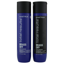 Matrix Total Results Brass Off Shampoo & Conditioner 300 ml   - $30.01