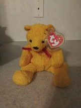 TY Beanie Baby Poopsie The Bear With Tag Retired DOB: March 31st, 2001 - $9.49