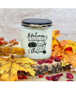 Autumn Is A Second Spring Fall Candle, Fall Candles, Fall Decor, Pumpkin... - $7.00+
