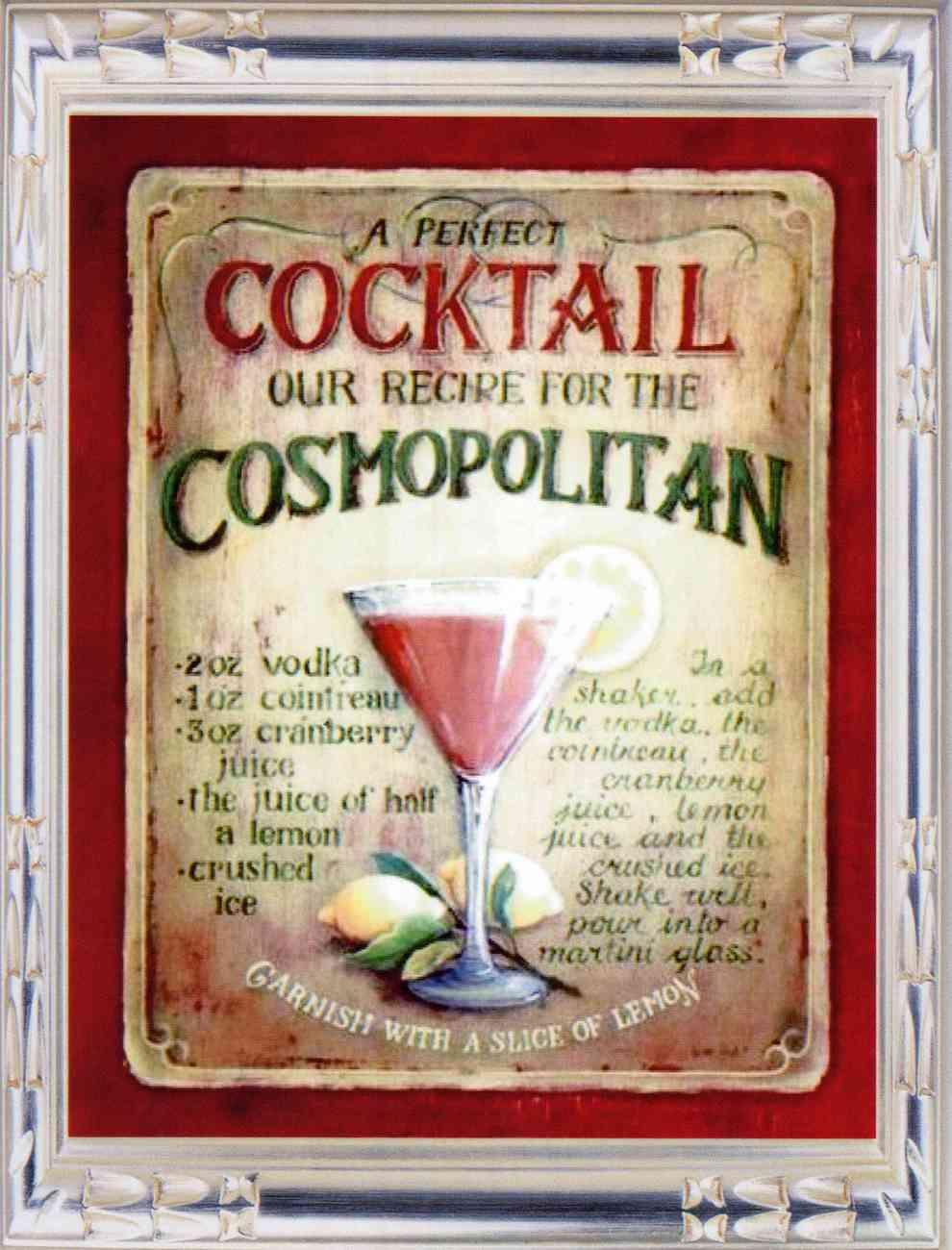 Cocktails cosmopolitan 01
