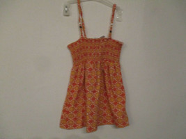 Old Navy Size 5T Girl's 100% Cotton Orange Sleeveless Sundress - $20.80