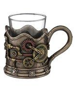 """3.5"""" Steampunk Shot Glass Gothic Unique Barware Home Decor - $22.50"""
