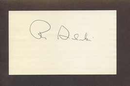 RAY SADECKI Signed 3x5 Index Card 1964 Cardinals Autograph - $5.83