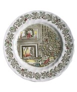 Johnson Brothers MERRY CHRISTMAS 4 DINNER PLATES MADE IN ENGLAND (s) - $168.29