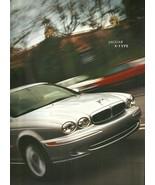 2002 Jaguar X-TYPE sales brochure catalog US 02 2.5 3.0 - $10.00