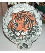 Tiger Plaque by Shapes of Clay Made with Mt St Helens Ash  - $15.99