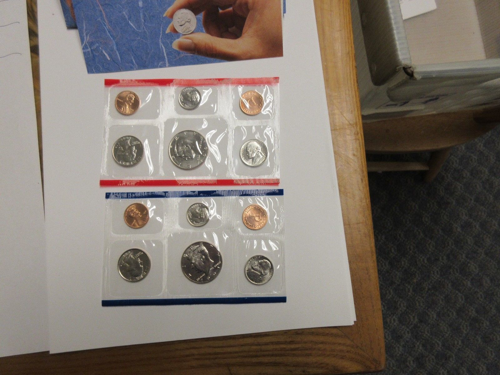 1991 , United States Mint , Uncirculated Mint Set , Lot of 5 Sets image 6