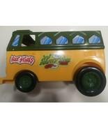 Vintage 1989 Teenage Mutant Ninja Turtle Party Wagon Van Shell Incomplete - $17.81