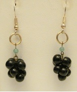 GRAPE EARRINGS - $9.00