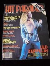 Hit Parader February 1977 Led Zeppelin Aerosmith Roger Daltrey Kiss Patt... - $16.99