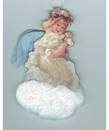Angelic Moments  Bradford Edition Angel  1999 Christmas Ornament    - $14.99
