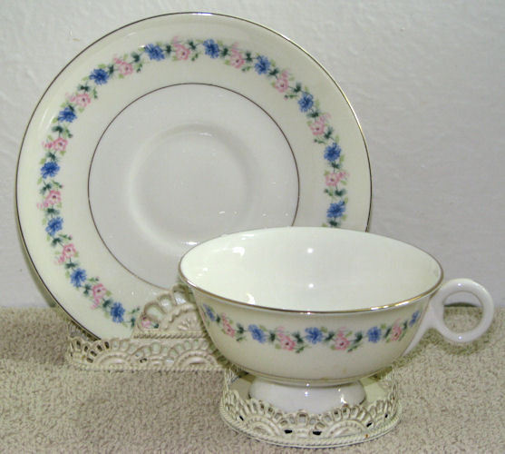 Vintage Theodore Haviland Cup and Saucer Pemberton