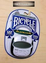 New Bicycle Blackjack 21 Electronic Handheld Pocket Card Game Travel C ASIN O Toy - $14.50