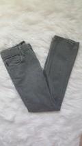 Unisex Junior Kids Vans Pants Gray V66 Slim Leg 26/12 In Perfect Condition! - $14.52