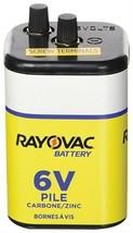 Rayovac  Zinc Chloride  6-Volt  6 volt Heavy Duty Battery  1 pk - $12.65