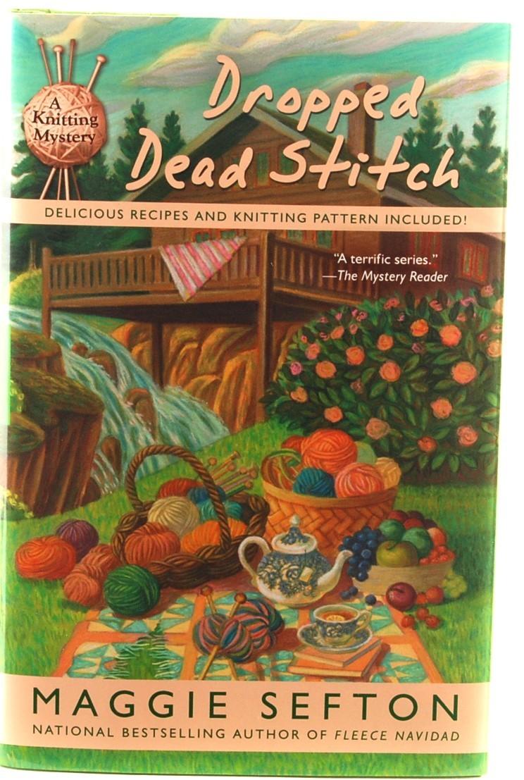 Book dropped dead stitch