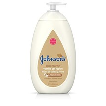 Johnson's Moisturizing Baby Body Lotion with Vanilla & Oat Extract for D... - $7.59