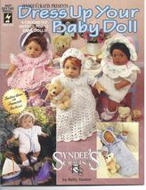 "Dress Up Your Baby Doll~12"" Doll Crochet Patterns~RARE - $39.99"