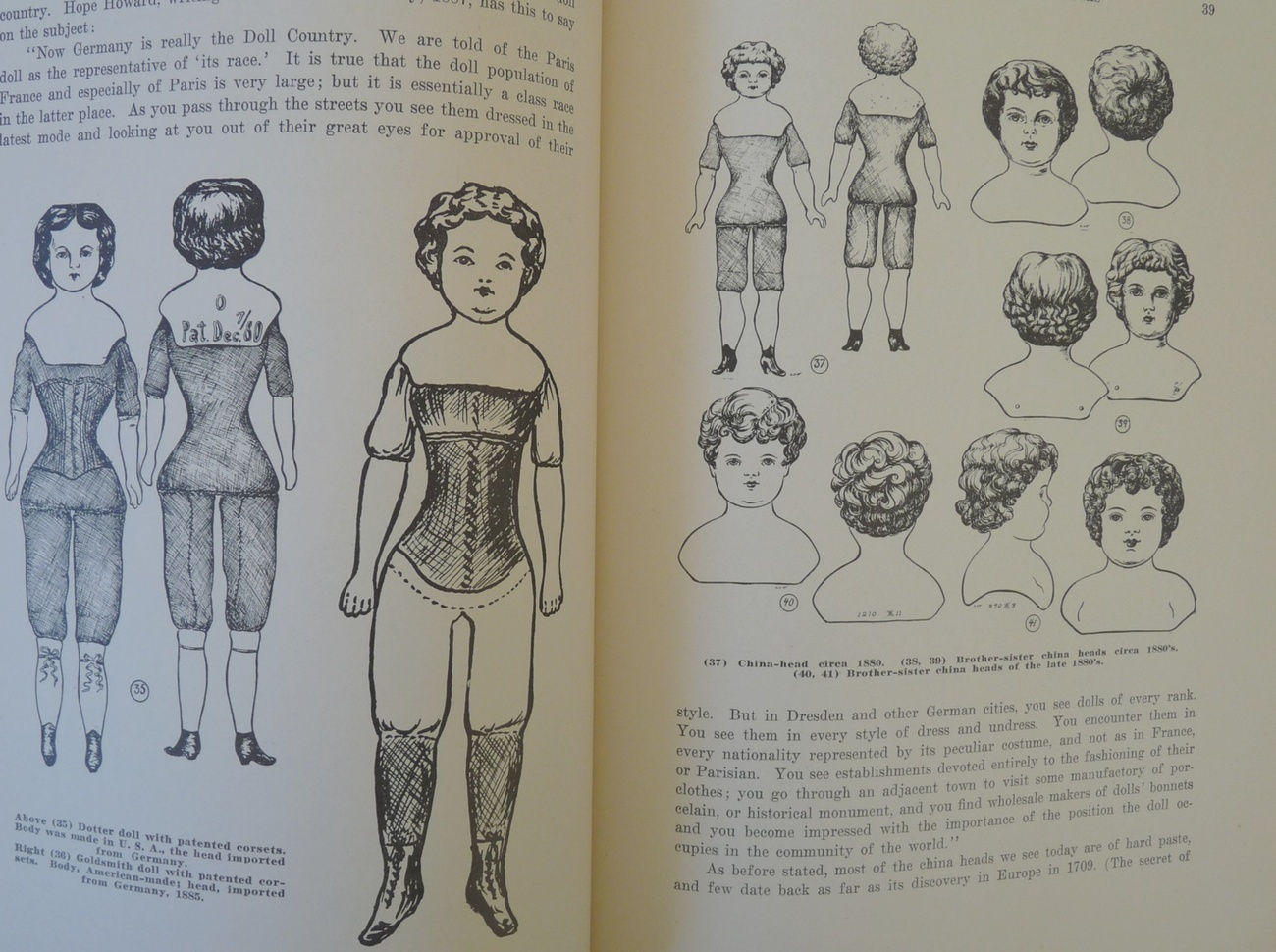 Dolls a Guide for Collectors Fawcett book antique puppets vintage reference