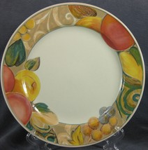 Mikasa Orchard Odyssey CAB04 Dinner Plates Stoneware Fruit - $21.95