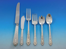 Mary II by Lunt Sterling Silver Flatware Set for 8 Service 57 pcs M Mono... - $3,400.00