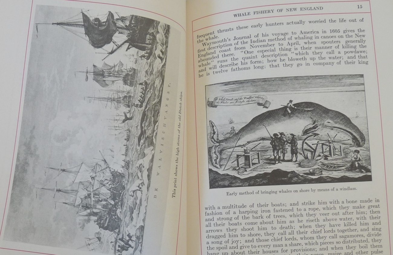 Whale Fishery New England book Sullwold shipping history vintage 1968