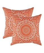 TreeWool 2 Pack Throw Pillow Covers Decorative Mandala Accent Decorative... - $18.99
