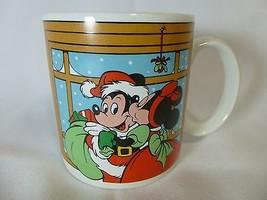 Mickey Minnie Mouse Coffee Walt Disney Mugs Cup Christmas Applause - $14.84