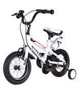 "12"" Freestyle Children Boys & Girls Bicycle w/ Training Wheels-White - $94.01"