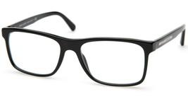 NEW GIORGIO ARMANI AR 7027 5017 Black EYEGLASSES FRAME A7027 55-17-145mm... - $146.01