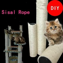Sisal Rope Cat Tree Climbing Frames DIY Cats Scratching Posts Toys Makin... - £1.52 GBP+