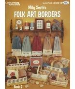 Folk Art Borders Counted Cross Stitch Pattern L... - $2.93