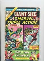 Giant Size Marvel Triple Action #2 Vol 1 [Comic] by Stan Lee & Don Heck - $19.99