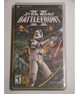 (Replacement Case & Manual) Sony PSP - STAR WARS BATTLE FRONT II (No Game)  - $10.00