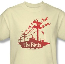 The Birds T-shirt Hitchcock classic horror movie retro 100% cotton tee UNI281 image 1