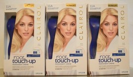 3 Ct. Clairol Root Touch Up 11A Light Ash Blonde Color Ultra Lift Perman... - $28.70