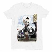 Star Wars Japanese Rey Children's Unisex White T-Shirt - $13.80