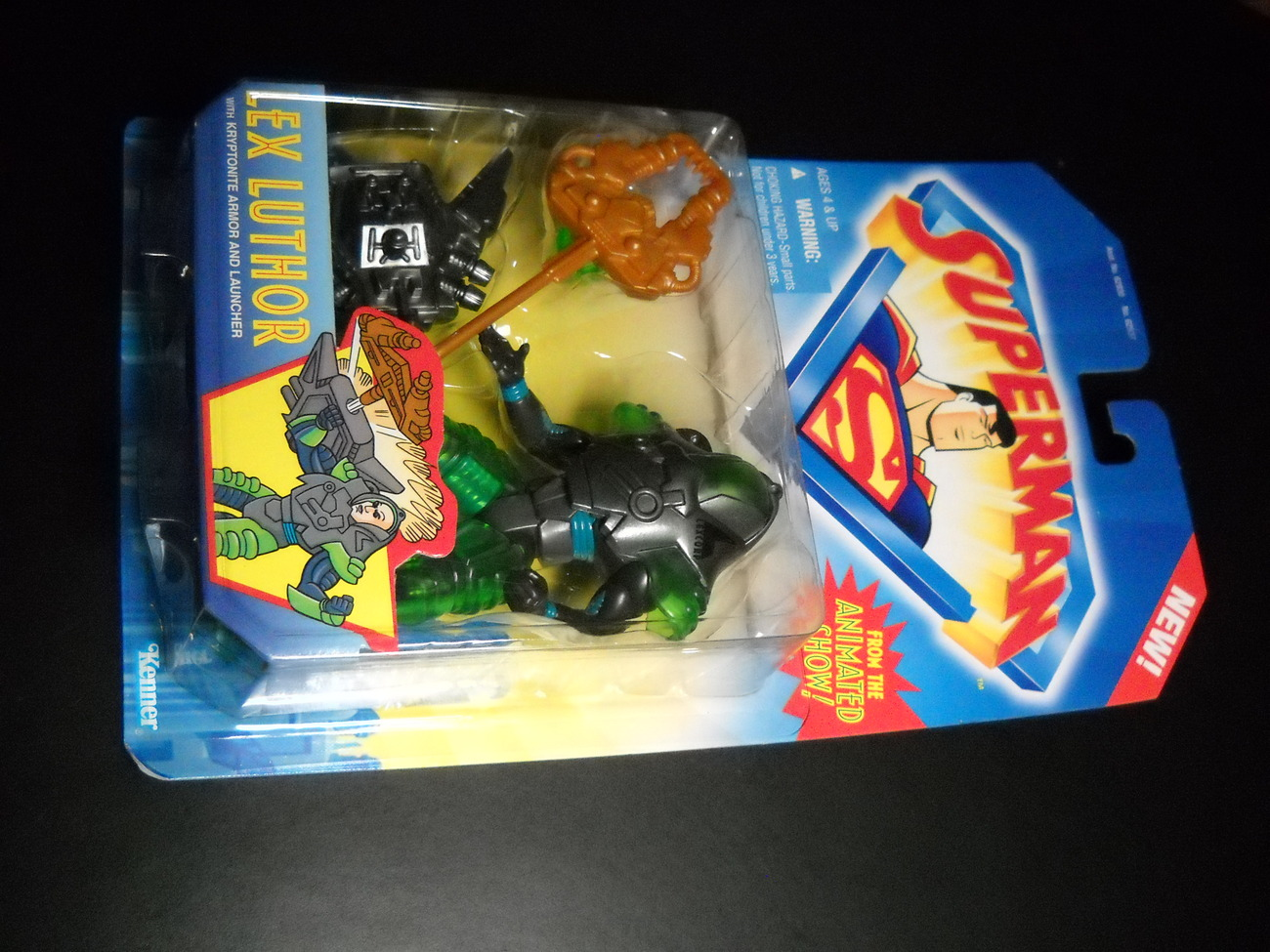 Toy superman kenner 1996 animated series lex luthor moc 01