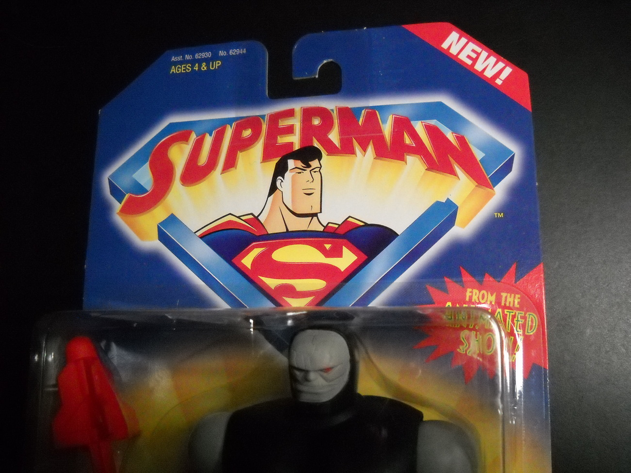 Kenner Hasbro Superman Animated Show Darkseid 1996 Still Sealed Kenner Hasbro