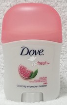 Dove Revive Pomegranate & Lemon Verbena Deodorant Roll-On Travel .5 oz/14g New - $7.43