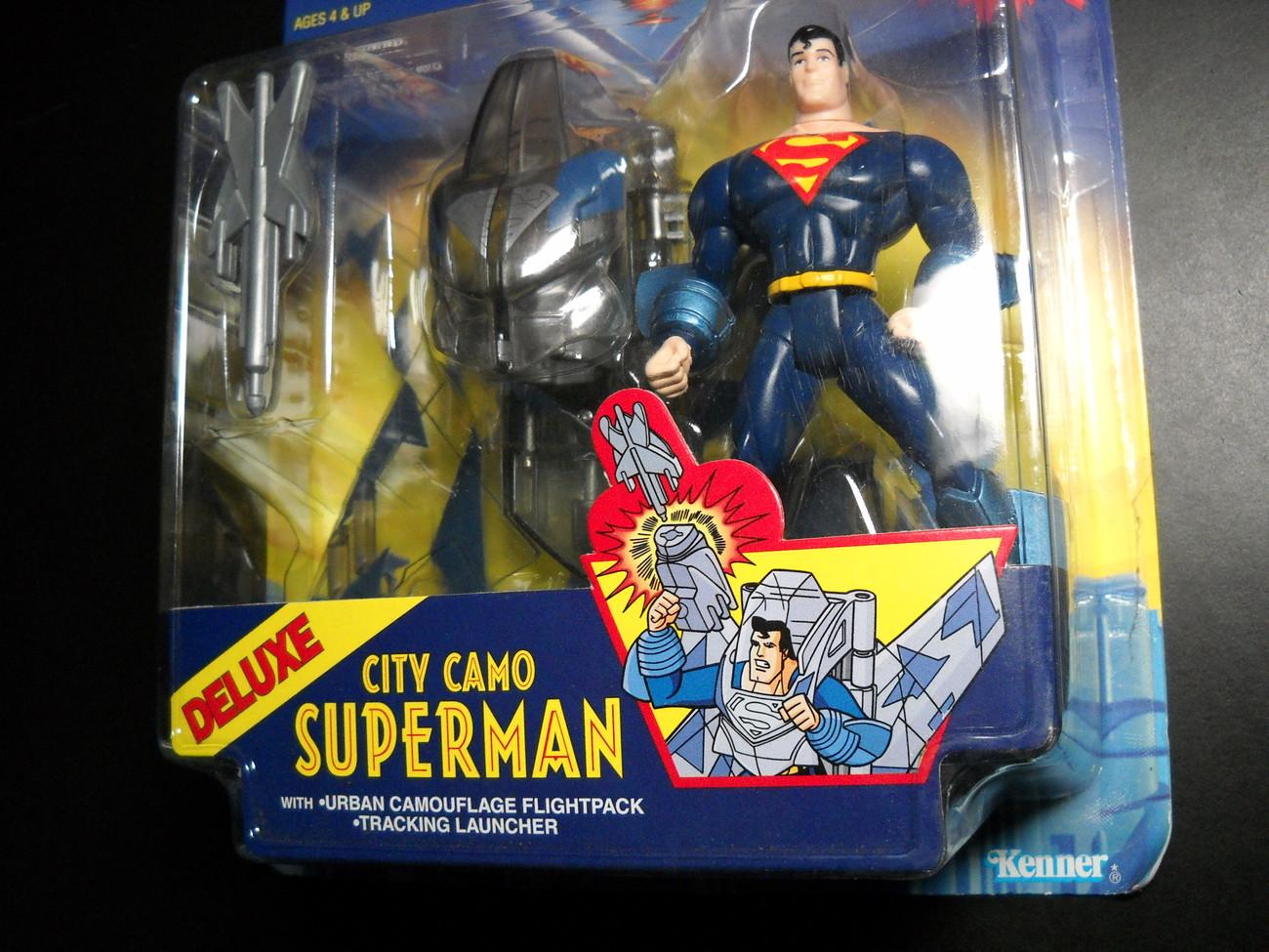 Kenner Hasbro Superman Animated Show City Camo 1996 Still Sealed Kenner Hasbro