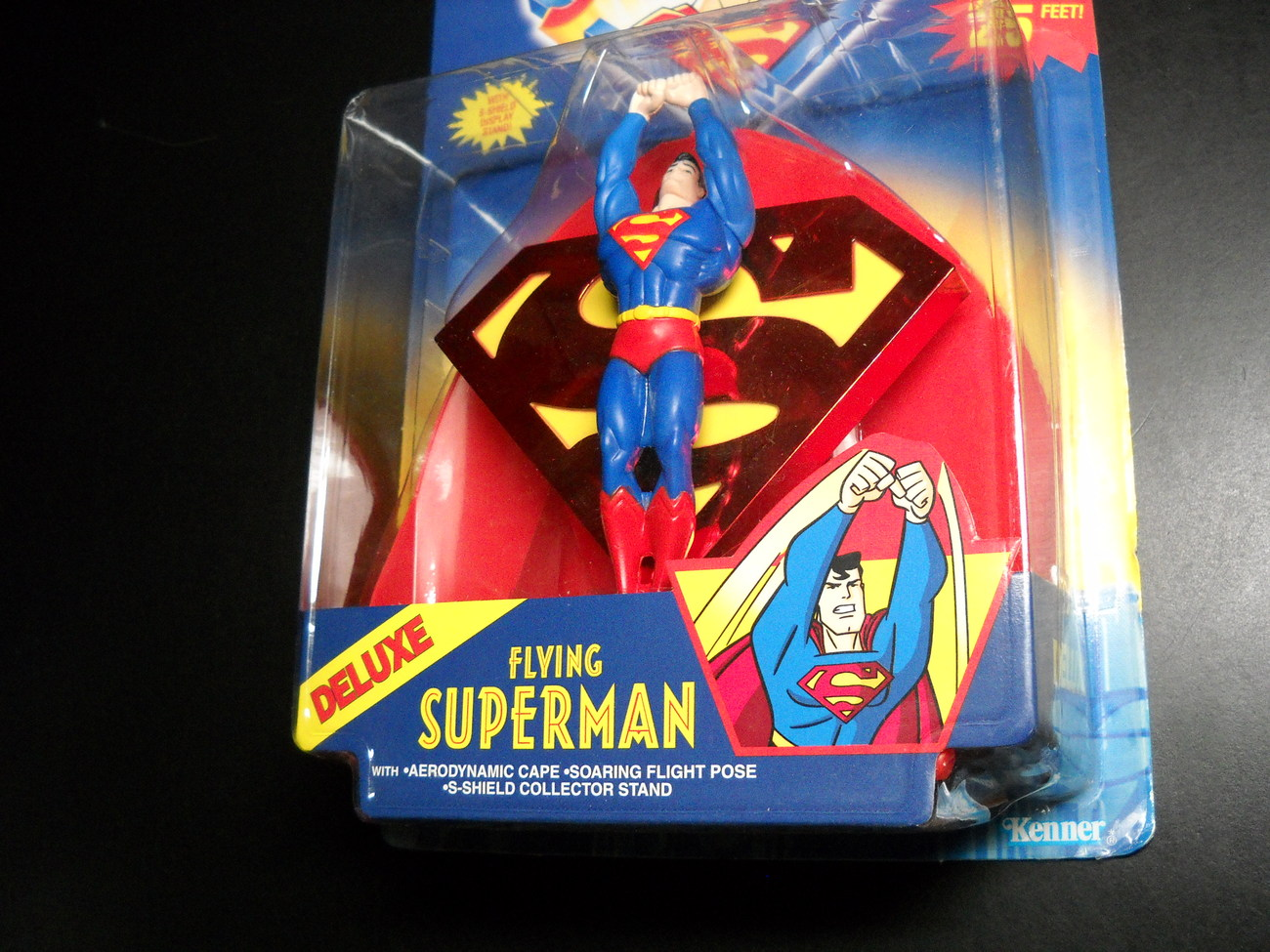 Kenner Hasbro Superman Animated Show Flying Superman 1996 Kenner Hasbro Sealed