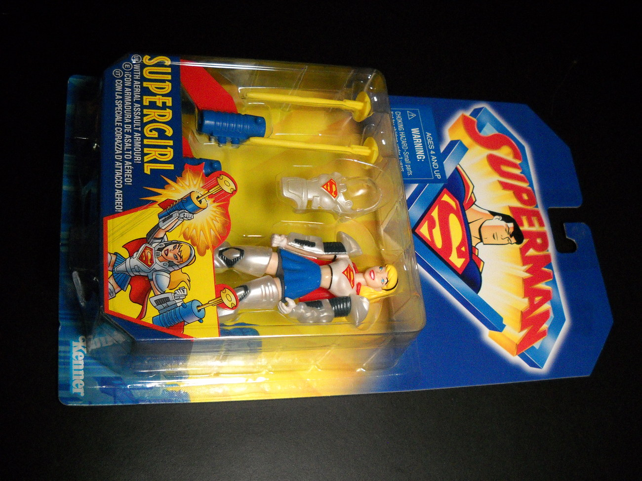 Toy superman kenner 1996 animated series supergirl moc 02