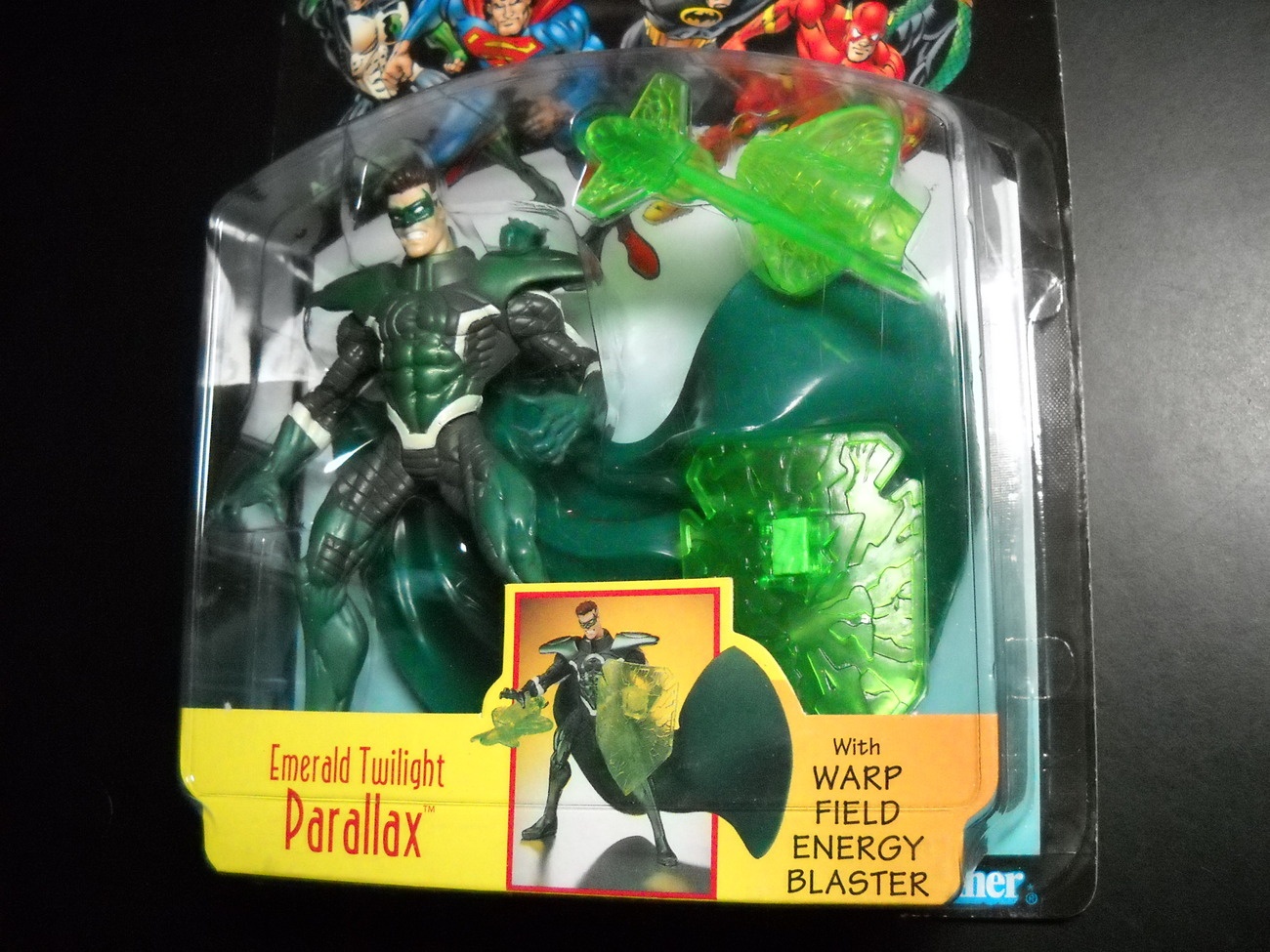 Kenner Hasbro Total Justice League Twilight Parallax 1997 Factory Sealed on Card
