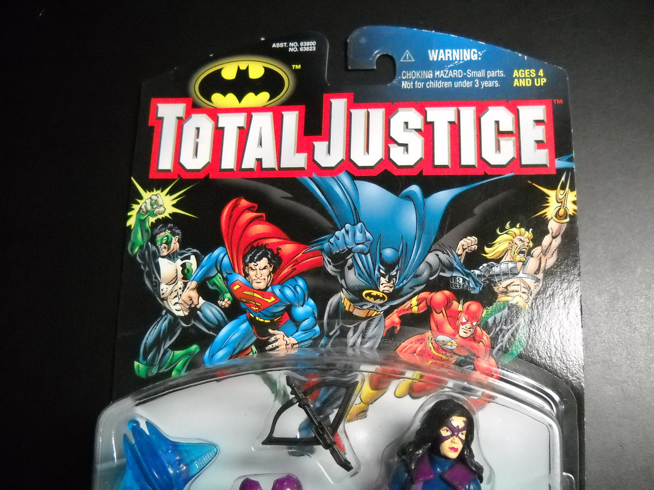 Kenner Hasbro Total Justice League Huntress 1997 Still Factory Sealed on Card
