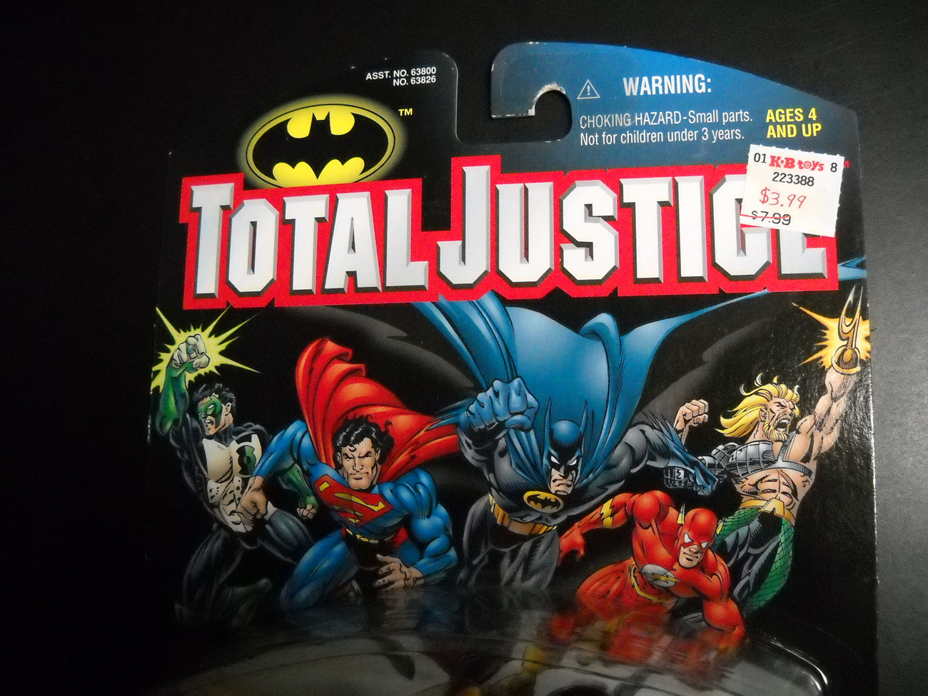 Kenner Hasbro Total Justice League Black Lightning 1997 Factory Sealed on Card