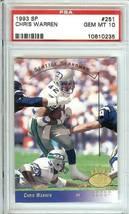 Chris Warren Seattle Seahawks 1993 Sp Upper Deck Psa 10 - $24.99